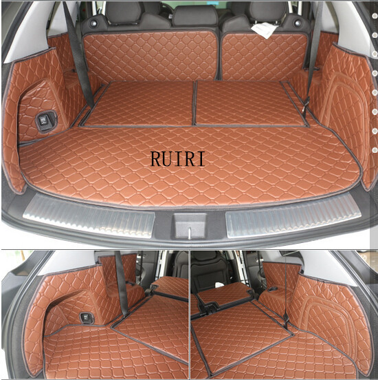 High Quality! Special Trunk Mats For Acura MDX 7 Seats