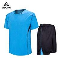 2018 Homens Camisas De Futebol Define Crianças Meninos Survetement Kits Jérsei de Futebol Terno Treinamento Esportivo maillot de pé DIY Impressão Personalizada