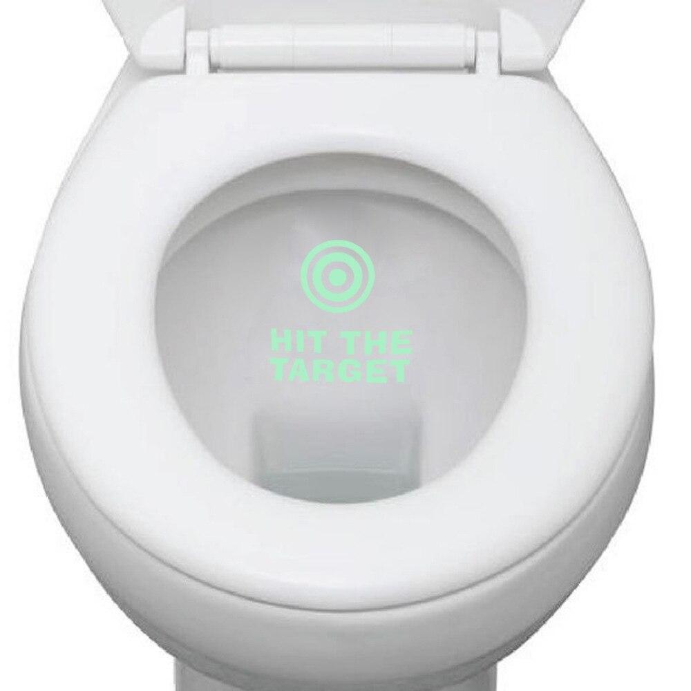 FUNLIFE световой попадание в цель Водонепроницаемый Туалет Ванная комната Стикеры прикольные надписи предупредить для общественности сидень...