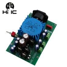 כפול מתח רגולטור להתאים אספקת חשמל לוח עבור Preamp DAC AMP מיקרופון 220 v קלט הכפול 15 v יכול להתאים + 5 v + 48 v פלט