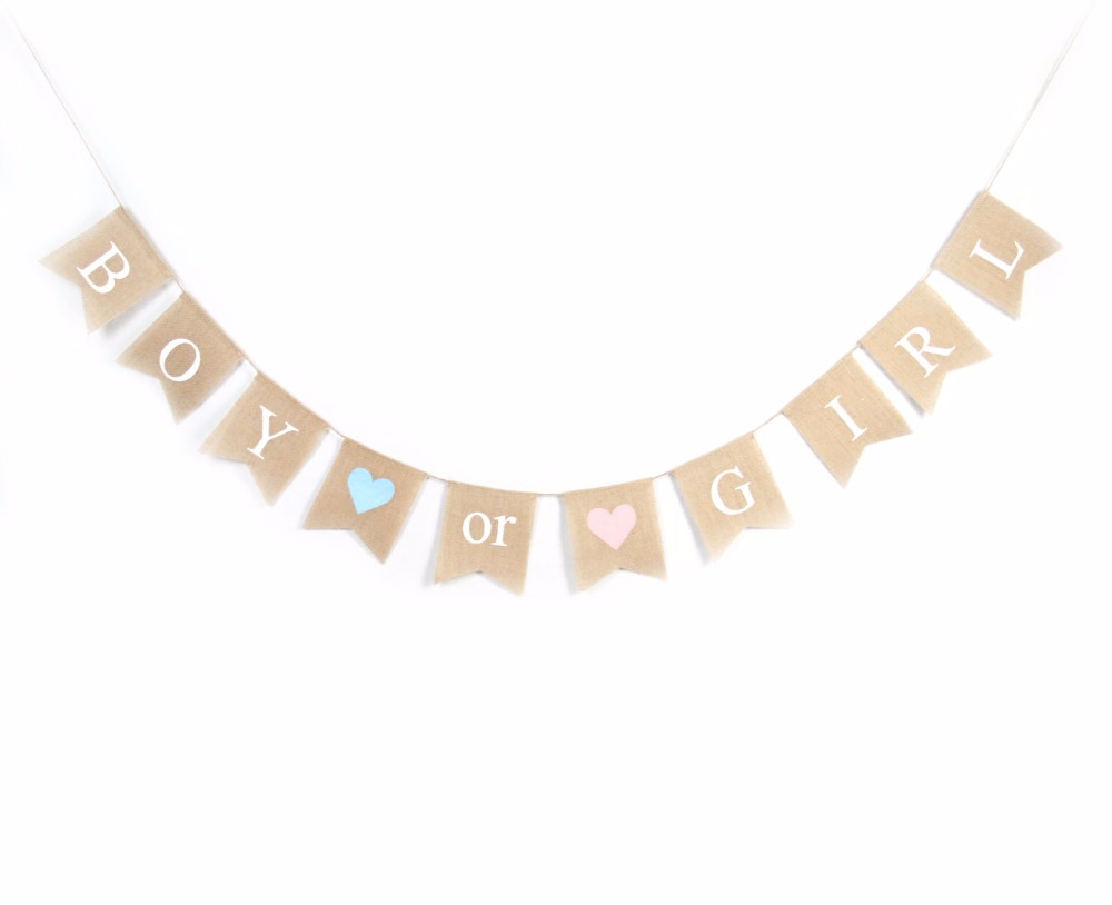 Popular Baby Shower Banners Gender Reveal-Buy Cheap Baby Shower ...