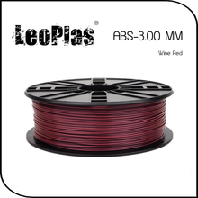 Worldwide Fast Delivery Direct Manufacturer 3D Printer Material 1 kg 2.2 lb 3mm Wine Red ABS Filament