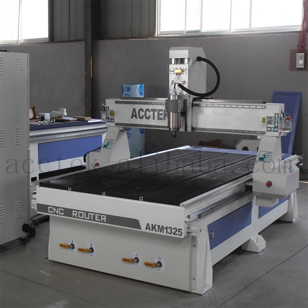 vacuum table great adsorption multifunction woodworking machine 1325 cnc 4 axis, cnc machines for wood