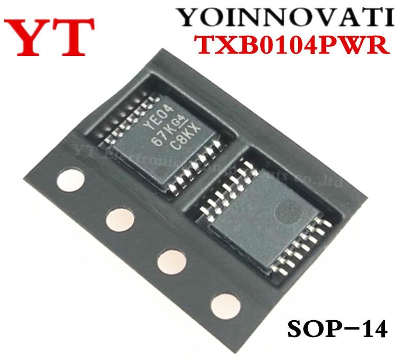 Free shipping 100pcs lot TXB0104PWR TXB0104 YE04 14TSSOP IC best quality