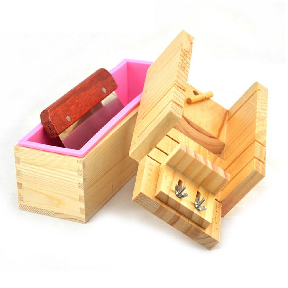 31//42oz Rectangular Soap Loaf Toast Mold Wood Box Homemade Adjustable Popular 9L
