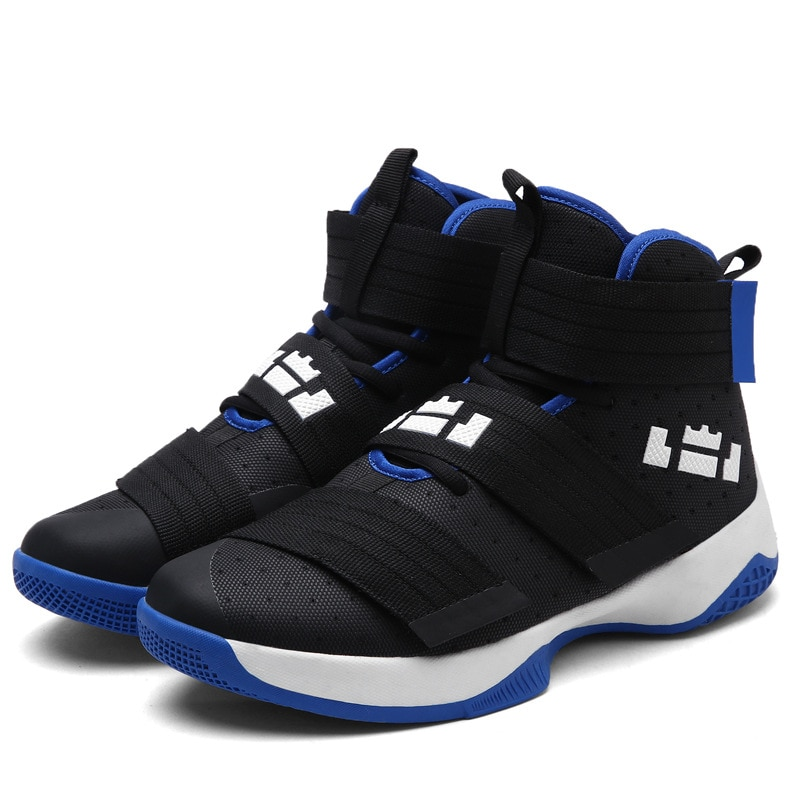 Outdoor Sneakers Basketball Shoes Men Spring Sport Shoes Summer Fitness Jogging Trainers Anti Skid Basketball Game Shoes for Man sports shoes flat boots men shoe basketball hoverboard students male nba basketball shoes man fitness sneaker