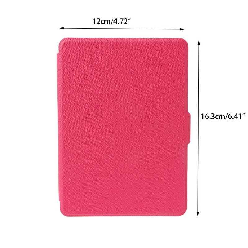 Искусственная кожа флип Стенд чехол для планшета для Amazon Kindle 8th поколения 2016