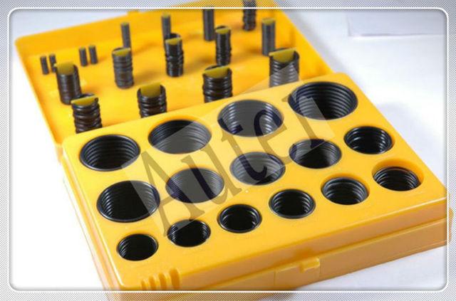 Rubber O ring Kit, Oring Box JIS B2401 / AS568 o ring seal rubber ...
