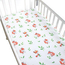 Baby's Crib Fitted Bedding Sheet