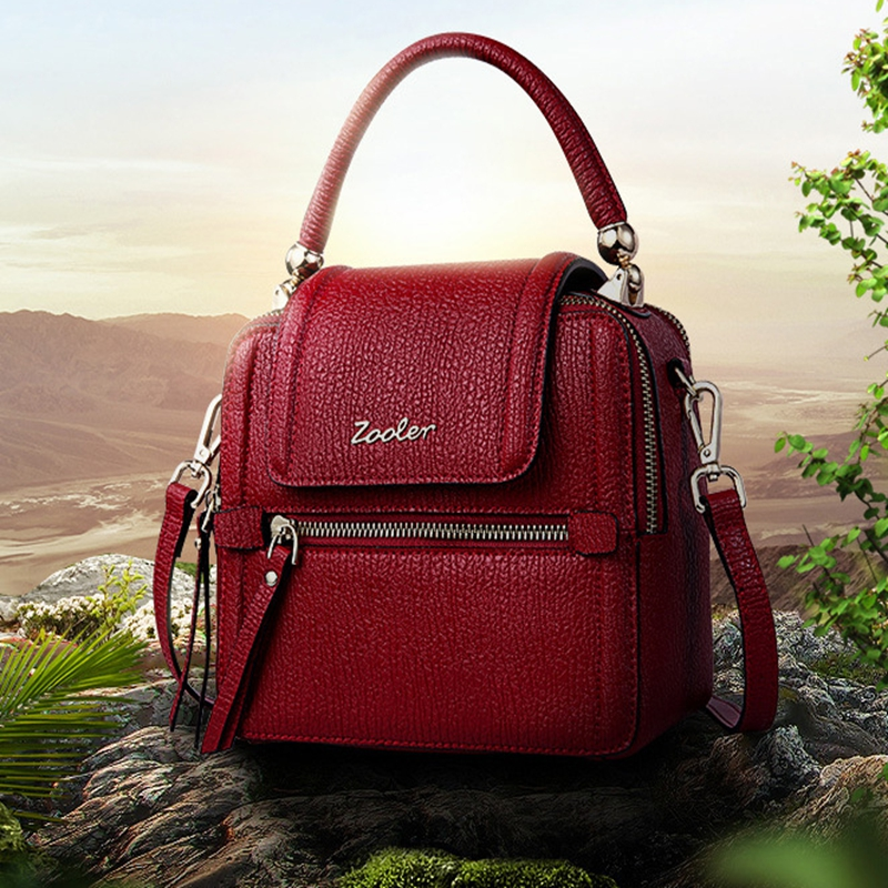 Women Messenger Bags Designer Famous Brands Genuine Leather Handbag Bolsa Feminina 2017 Female Shoulder Tote Bag Sac A Main