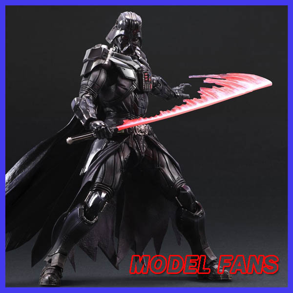 MODEL FANS New Variant Play Arts Kai Star Wars Black Knight Darth Vader Anakin Skywalker PVC Action Figure цена 2017