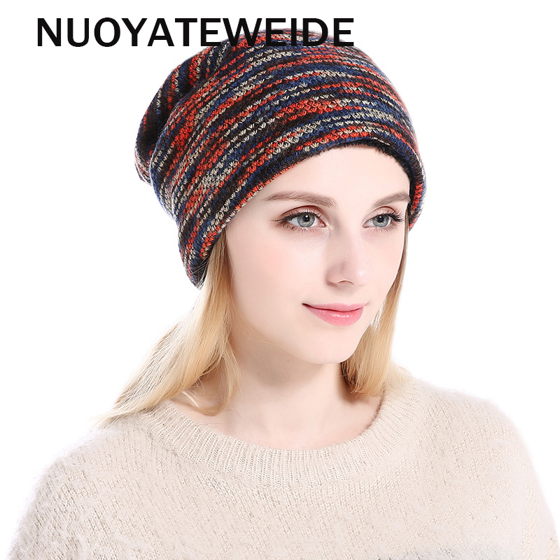 Winter Hats for Women Men Knitted Beanie Hat Cap for Girls Wool Brand Hat Female and Male Skullies Couples Stocking Hats Beanies veithdia women autumn winter knitted hats cute kitty beanie hat for women girls winter wool cap skullies gorras 607