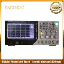 Hantek DSO4104C Цифровой Осциллограф портативный 80-250 МГц 4 канала 1GSa/s длина записи 64 к USB