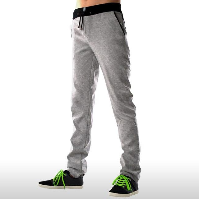 ba35f96f9 La primavera y el Verano Para Hombre Del Basculador Pantalones Con Cordón  de La Cintura Pantalones