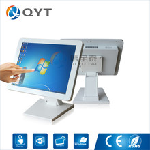 "15""desktop pc with intel N3150 2GB RAM 32G SSD/2rs232 all in one pc touch screen resolution 1024×768 white metal case"