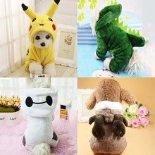 kimhome pet dog clothes for small dogs winter cotton coat dog halloween costume for medium large dogs cartoo cosplay pet clothes