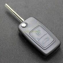Шишка для Chery A5 Fulwin Tiggo E5 A1 Cowin пасхальное Ключи случай 2 Пуговицы режиссерский латунь лезвие изменение удаленный ключевой ABS В виде ракушки 1 шт.