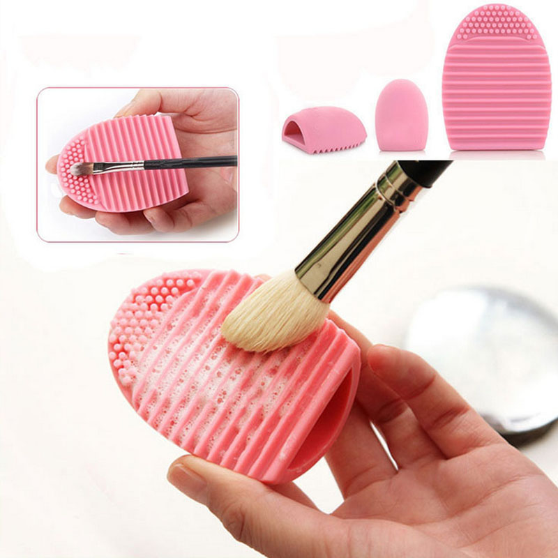 1Pc Personal Makeup Brush Cleaner Finger Silicone Glove Cleaning Tool Washing Makeup Brush ...