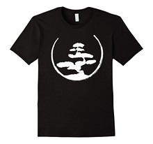 Bonsai Tree T-Shirt - Zen Buddhist Japanese Gardening Tee Funny Casual Brand Top High Quality for Man Better T Shirt Hot Sale(China)