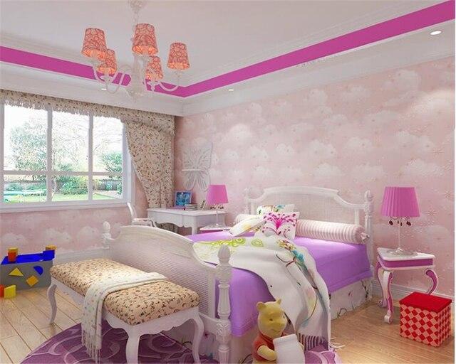 Behang Voor Kinderkamer : Beibehang high end kinderkamer papel de parede behang niet geweven