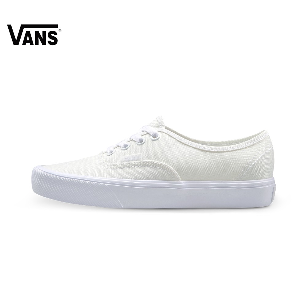 Original Vans New Arrival Pink and White Color Low-Top Unisex Men's and Women's Lover's Skateboarding Shoes Sport Shoes Sneakers
