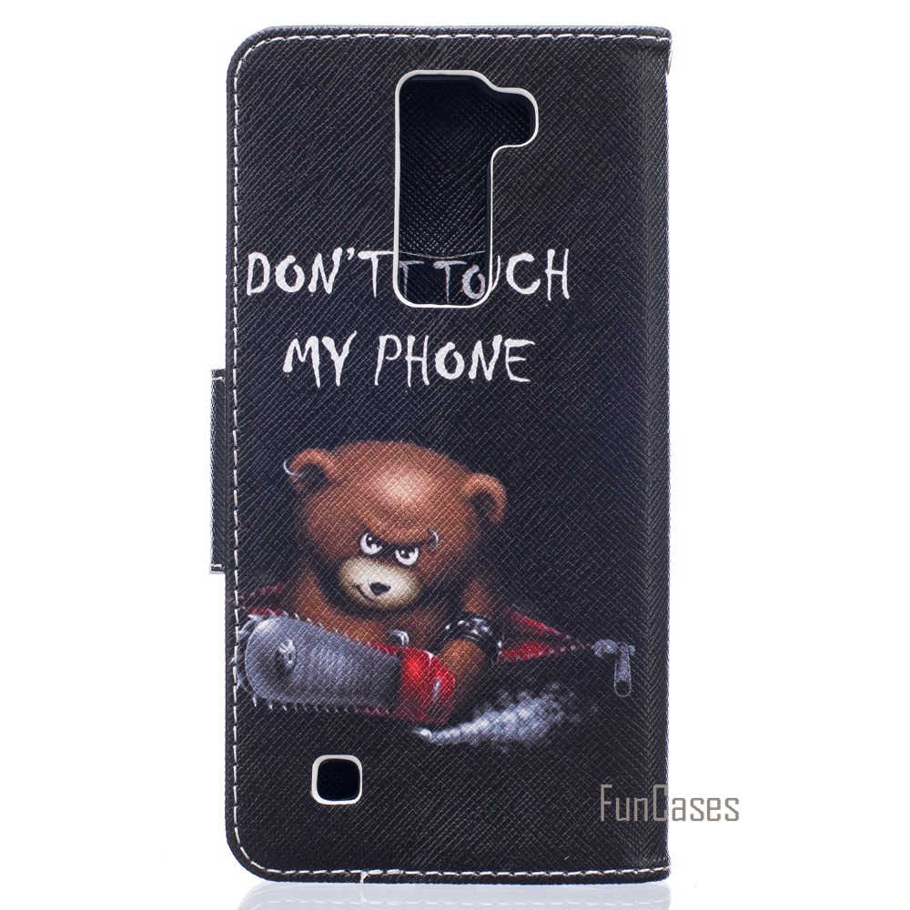 Flip Case for coque LG K7 M1 Case Cover for coque LG K8 LTE K350 K350E K350N Case for fundas LG K7 Dual SIM Case 5 inch