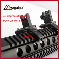 Factory Direct AR15Excellent Rifle Scope Ffp Scope AR 15 Front And Rear Flip Up 45 Degree