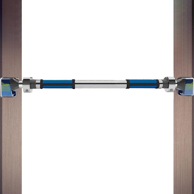 Barres horizontales porte 2017 nouveau renversement-preuve anti-dérapage Pull Up Bar mur Accueil acier inoxydable barre de traction équipement de fitness