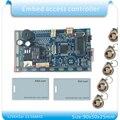 Frete grátis 125 KHZ RFID em/ID Incorporado Porta de Controle de Acesso de Proximidade RFID Porta Controle de Acesso Sistema De Construção de interfone módulo