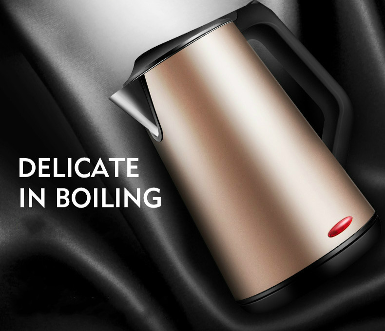 Electric kettle thermos 304 stainless steel flask open water bottle Overheat Protection Safety Auto-Off Function