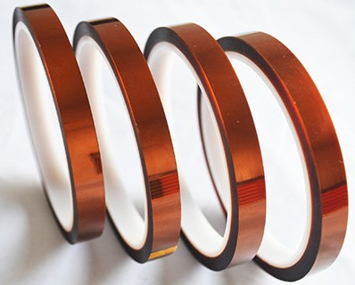 10 Rolls 10mm*33m Heat Resistant Tape For Sublimation Transfer Thermal,brown-color