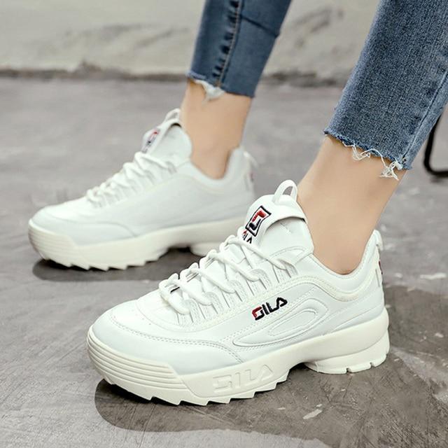 1d60ae4605 Women Shoes Fashion New Vintage Platform Sneakers Women Autumn Winter Light  Breathable Shoes Women Casual Shoes