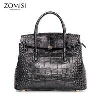 ZOMISI новая сумка для женщин высокое качество пояса из натуральной кожи Бизнес сумки