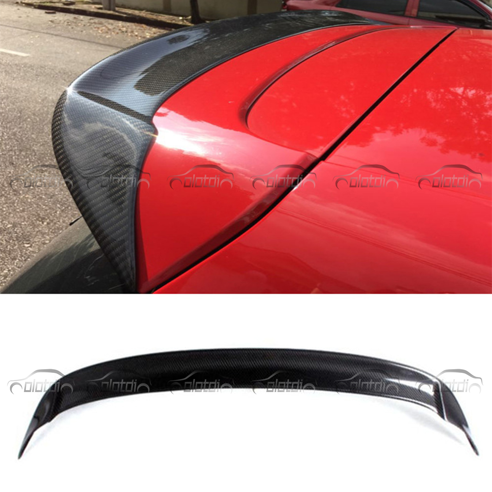 MK6 G-T-I O Style Car Styling Carbon Fiber Roof Spoiler Wing For Volkswagen VW Golf 6 VI MK6 G-T-I & R20 2010-2013 high quality golf 6 mk6 carbon fiber full replacement car review mirror cover caps for vw golf6 mk6