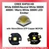 Cree xhp35 hd bianco 6500 k/neutral white 5000 k 4000 k/warm bianco 3000 K LED Emettitore con 16mm/20mm DTP Rame MCPCB 1 pz-in Perline chiare da Luci e illuminazione su