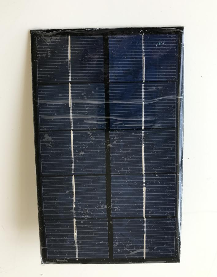 2W 5V Solar cell panel with USB ,Solar charger for cell phone ,mini pump ,motor .battery ect.
