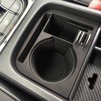 ABS Car Center Organizer Armrest Water Cup Storage Box Replacement for Skoda Kodiaq GT Interior Accessories