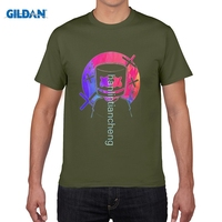 GILDAN DIY Style Mens T Shirts Electronic Music Marshmello T Shirts Over Size Male S New