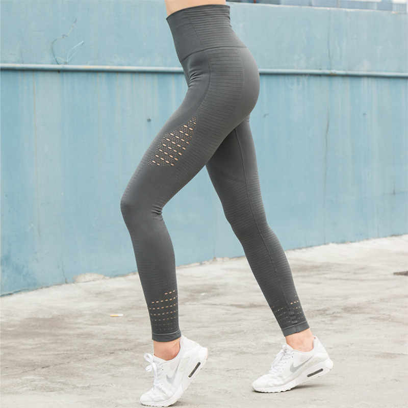 384277d80daad Colorvalue 4 Colors Mention Hip Fitness Sport Yoga Pants Women High Waist  Seamless Running Tights Stretchy