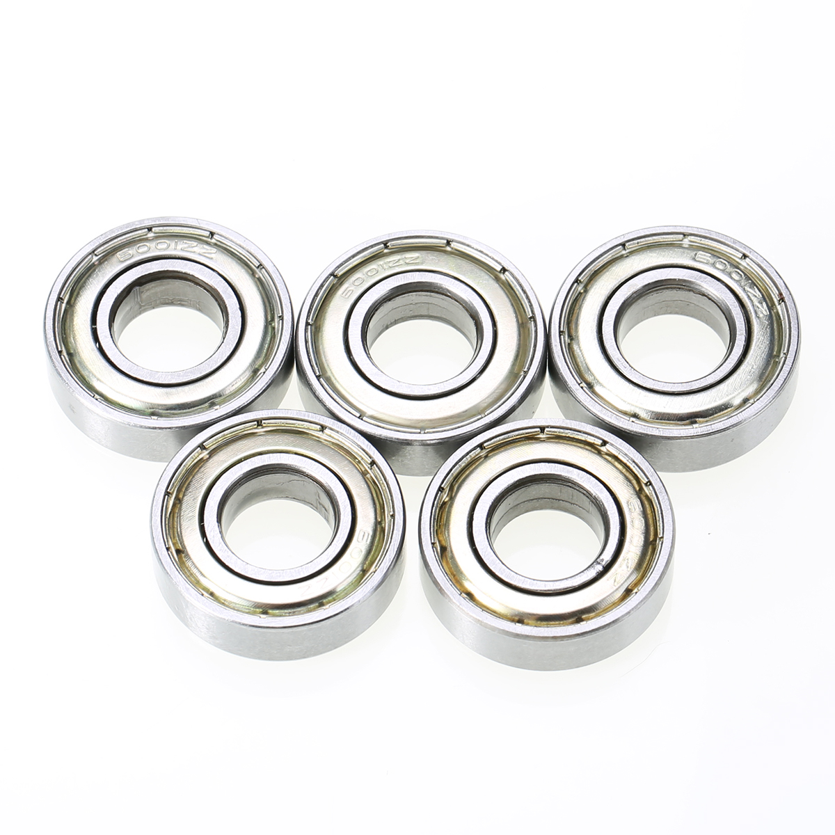 5pcs/lot Small Wear 6001ZZ Ball Bearing Mayitr Shielded Deep Groove Radial Bearings 12mm * 28mm * 8mm for Electric Motors Wheel 5pcs lot f6002zz f6002 zz 15x32x9mm metal shielded flange deep groove ball bearing
