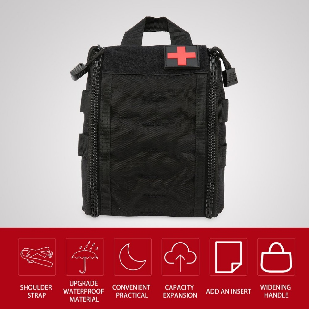 Outdoor Portable First Aid Bag Tactical Medical case Multifunctional Waist Pack Camping Climbing Emergency Bag Survival KitOutdoor Portable First Aid Bag Tactical Medical case Multifunctional Waist Pack Camping Climbing Emergency Bag Survival Kit