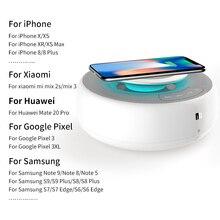 NILLKIN BT hoparlör rahat hızlı kablosuz şarj fonksiyonu Hi Fi ses kablosuz bluetooth ev hoparlör xiaomi iPhone XS için Max