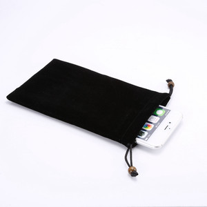 New Premium Cotton Neck Strap Sleeve Phone Pouch Bag Case cover for Samsung Galaxy S7/S6 edge/S6/S5/Note 4/N7100 for Huawei P7
