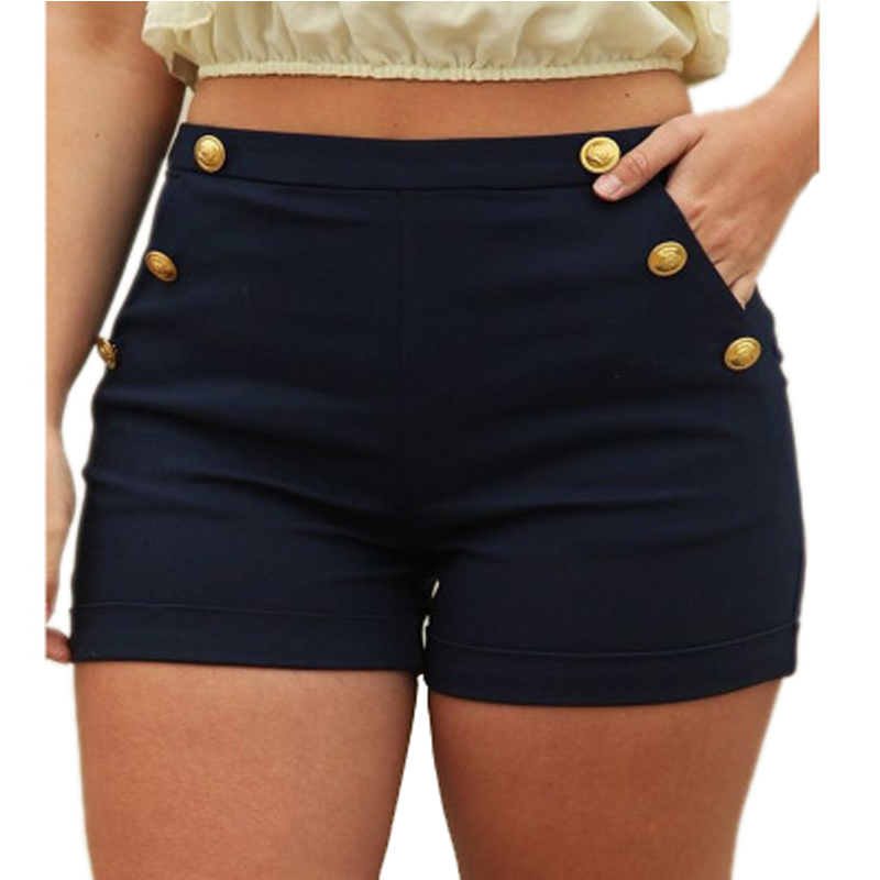 Summer Women Skinny Shorts Sexy Package Hip Feminino 2018 Fashion Casual Solid Black Short Elastic Waist Plus Size 5XL Shorts