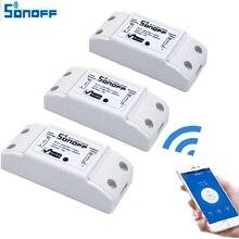 Sonoff умный Wi-Fi переключатель DIY умный беспроводной пульт дистанционного управления Wi-Fi переключатель света Умный домашний контроллер работы с Alexa