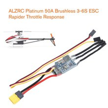 Platinum 50A V4 Brushless Speed Control ESC 3-6S Lipo for Multicopter Quadcopter Airplane Drone Helicopter Model Parts hobbywing platinum 25a v4 3 6s lipo platinum 40a v4 esc 3 4s lipo brushless esc speed controller for rc helicopter 450 480