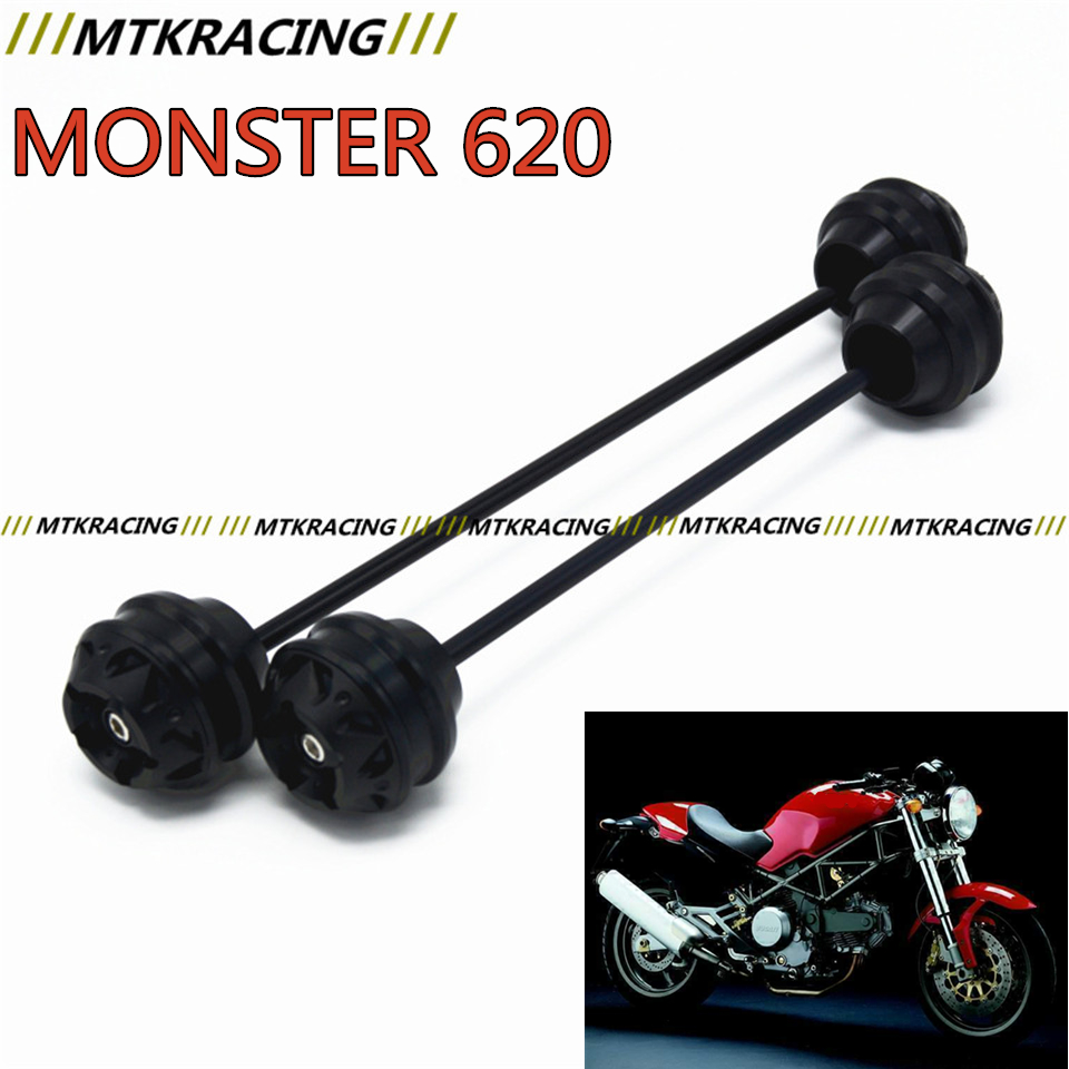 MTKRACING For Ducati MONSTER 620 2003-2006 CNC Modified Motorcycle Front and rear wheels drop ball / shock absorber free delivery for ducati monster s4r 2003 2008 cnc modified motorcycle drop ball shock absorber