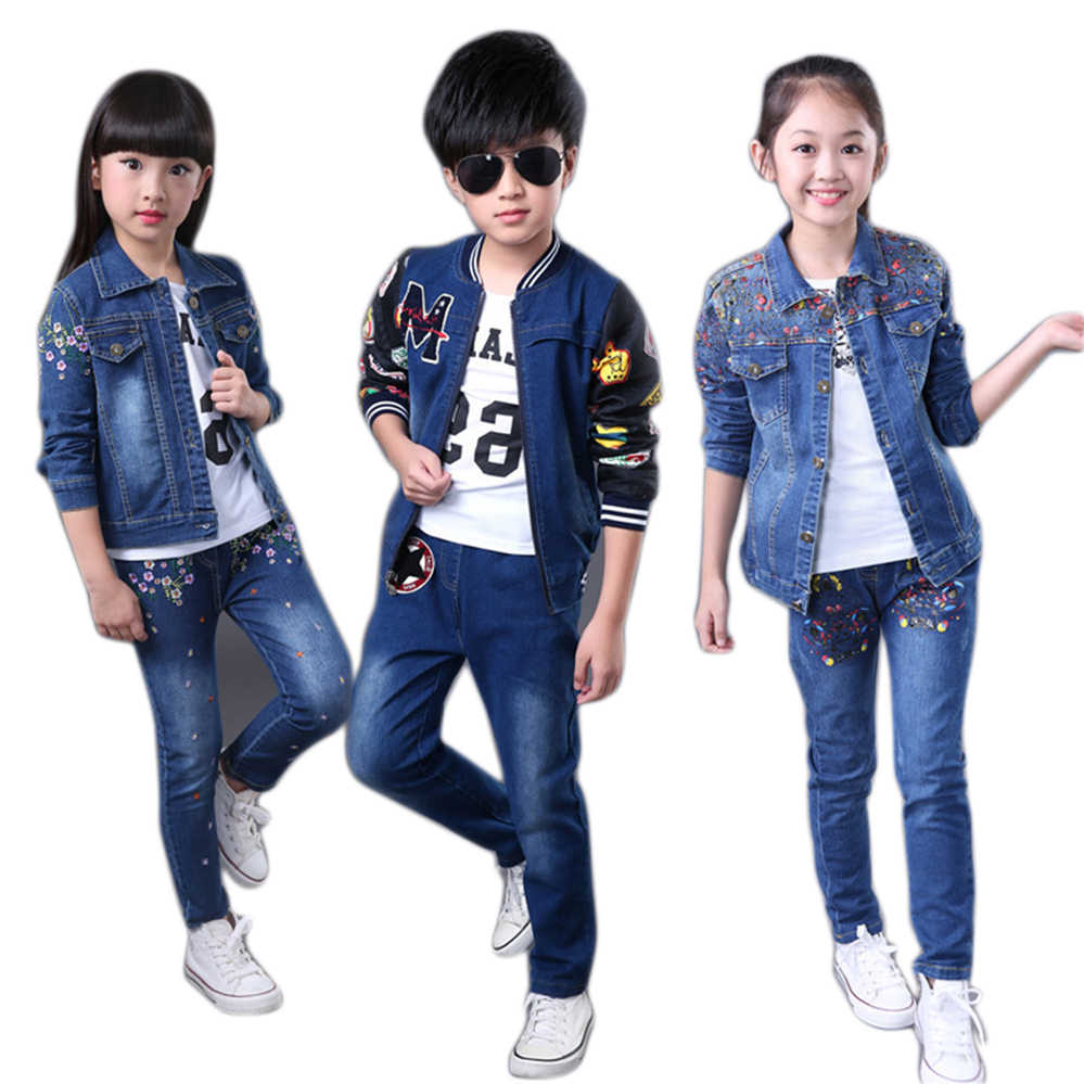 1ebe08124efe Detail Feedback Questions about Children Clothes Set for Boys Girls ...