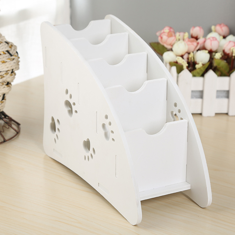 DINIWELL Korean Style Creative Desktop Storage Box Finishing Box Cosmetics Storage Box Desktop Organizer Remote Control Holder