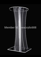 pulpit furniture Free Shipping Transparent Modern Design Cheap Clear Acrylic Lectern acrylic podium